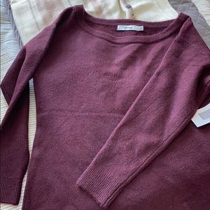 Just Fab Off Shoulder Sweater